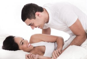 Loving Affectionate Couple In Bed credits goes to photostock