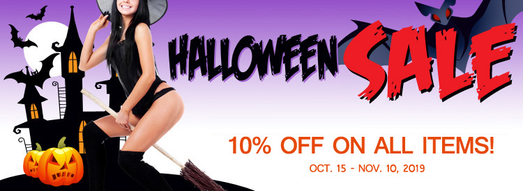 Halloween Sale on Selected Items!