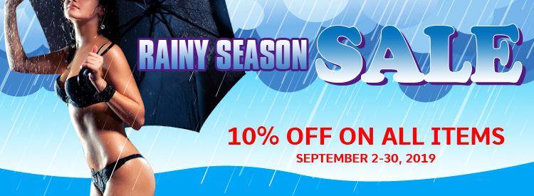 Rainy Season Sale on Selected Items!