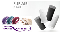 Tenga Flip Air & We Vibe 3 Available Now