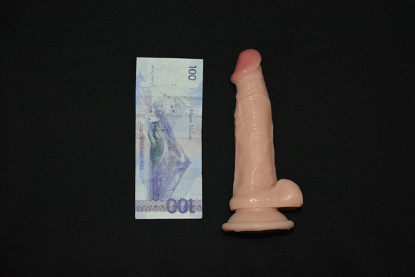 Actual 6.5 Inches Strongman Dildo - for sale