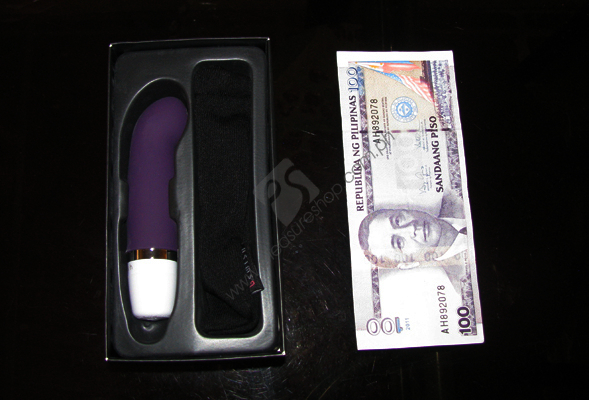 Actual Bcute Curve by B Swish, mini G spot vibrator