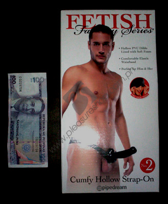 Actual Fetish Fantasy Cumfy Hollow Strap On #2 for sale