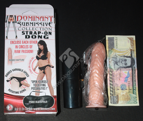 Actual Dominant Submissive Strap On Dong for sale