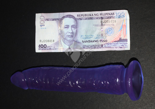 Actual Fetish Fantasy Sensual Strap On with Dildo - strap on with a purple 7 inches dildo