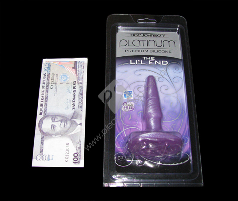 Actual Platinum Silicone The LiL End for sale