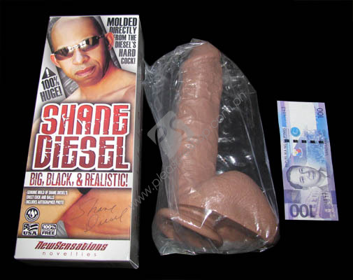 Actual Shane Diesel Realistic Dildo for sale