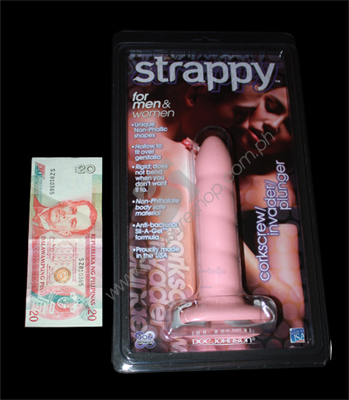 Actual Strappy Cock Extension Corkscrew for sale