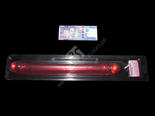 Actual Translucence Smooth Double Dildo 18 Inches for sale