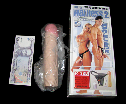 Actual Ultra Harness 8inches Vibe Dildo for sale