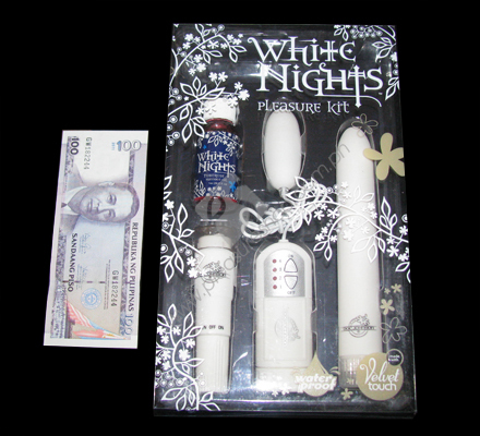 Actual White Nights Pleasure Kit for sale