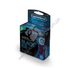 Black Ice Super Thin Condom 3PK for sale