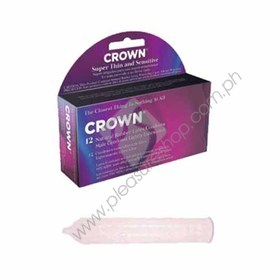 Crown Super Thin and Sensitive Condom 12PK for sale
