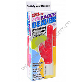 Eager Beaver jelly vibrator by Pipedreams products