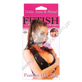 Fetish Fantasy Feather Ball Gag for sale