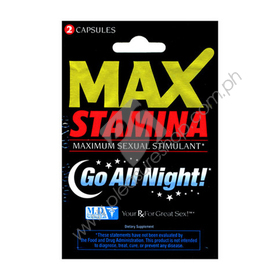 Max Stamina 2PC for sale