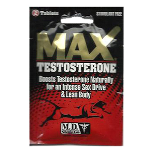 Max Testosterone 2 Pills - For Sale