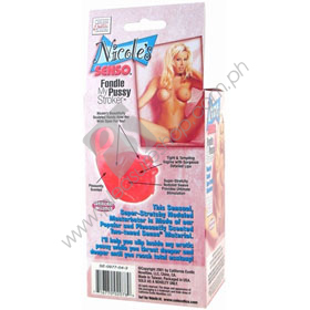 Nicole's Senso Fondle Stroker Pocket Pussy male toys, a sex toys for men