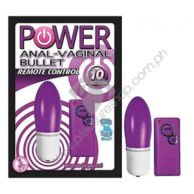 Power Anal Vaginal Bullet for sale at Pleasure Shop Philippines