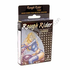 Rough Rider Studded Condom 3PK for sale