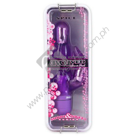 Short and Sweet Spice rabbit vibrator by Evolved Novelties