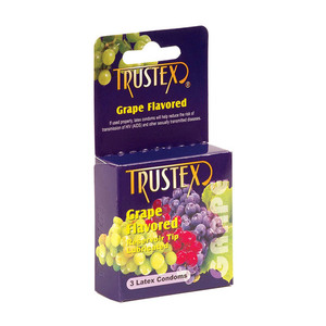 TrustSex Flavored Condom 3PK for sale