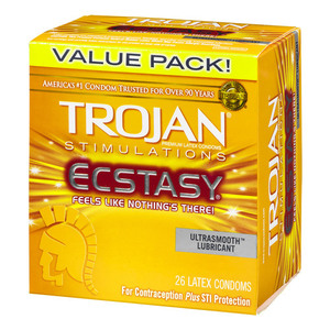 Trojan Stimulations Ecstasy Condom 26PK for sale