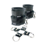 5 Piece Hog Tie and Cuff Set for sale