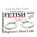 Fetish Fantasy Beginners Metal Cuffs for sale