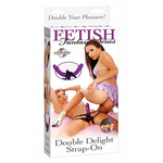 Fetish Fantasy Series Double Delight Strap On for sale