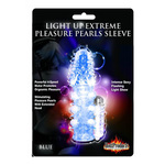 Light Up Extreme Pleasure Pearls Sleeve