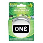 One Latex Condoms 3PK for sale
