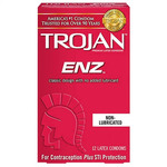 Trojan ENZ Non-Lubricated Condom 12PK - for sale