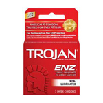 Trojan ENZ Non-Lubricated Condom