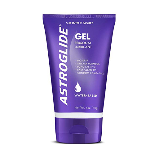 Astroglide gel for anal